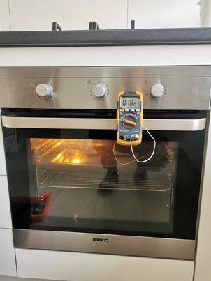 testing blanco oven temperature